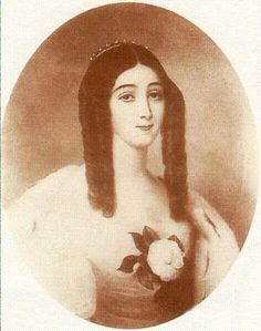 Know as Marguerite Gautier, the main character in La Dame aux Camélias by Alexandre Dumas the younger, or as Violetta Valéry, the leading soprano character in Guiseppi Verdi's opera La Traviata but few will remember her for who she really was, Alphonsine Plessis, who died from tuberculosis at the age of twenty-three.