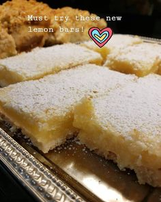 Lemon Bars Lemon Bars, Cornbread, Pastries, Cheesecake, Ethnic Recipes, Desserts, Food, Millet Bread, Meal