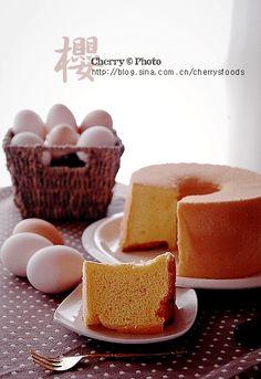 【樱的烘焙日誌】---戚风蛋糕的初挑战