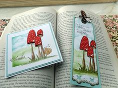 card and bookmark