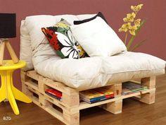 Sillón de palets | Muebles con palets