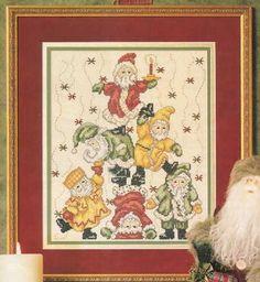 Just Cross Stitch Patterns | Learn craft is facilisimo.com  santa tree pic