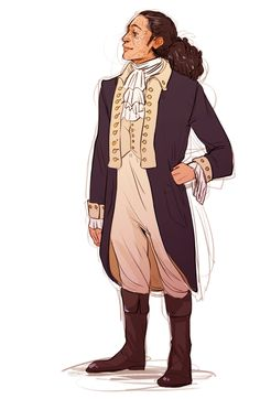 John Laurens by batcii on tumblr!!