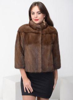 Норковая куртка Абель 01, Элина