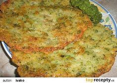 Brokolicové placky recept - TopRecepty.cz