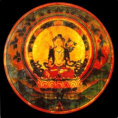"""'Now until the dualistic identity mind melts and dissolves, it may seem that we are parting. Please be happy. When you understand the dualistic mind, there will be no separation from me. May my good wishes fill the sky.'  ~ Yeshe Tsogyal  """"This image of White Tara granted empowerments, delivered prophecies, bestowed the blessings of longevity, and how other devoted students were able to receive advice from it directly, brought about the revelation of a terma. ~ termatara"""