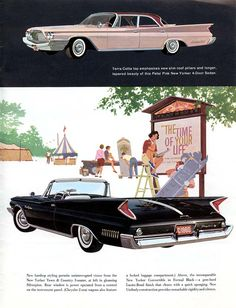 1960 Chrysler New Yorker Convertible and 4-Door Sedan