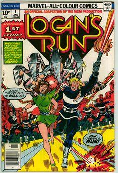 Logan's Run 1 (FN- 5.5) pence