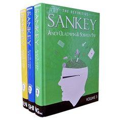 Definitive Sankey (3 Book and 1 DVD set) by Jay Sankey and Vanishing Inc. Magic - Book