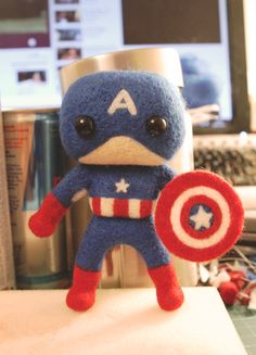 Avengers - Mini!Captain America by cat-cat on DeviantArt