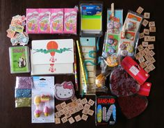 25 inexpensive things you can send to your pen-pals. #mail #penpals #ackage