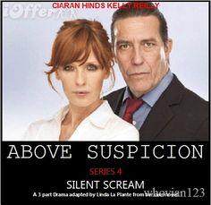 'Above Suspicion' Above Suspicion is a British TV series based on Lynda La Plante's novels Above Suspicion, The Red Dahlia, Deadly Intent and Silent Scream.