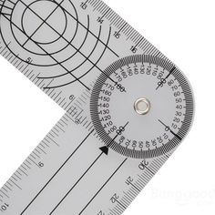Profesional Multi-Regla 360 grados de ángulo Goniometer Médico espinal Gobernante cm / pulgada VENTA GRANDE Sale-Banggood.com