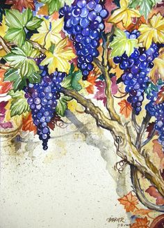 pictures of things to make with grape vines   Grape Tutorial Signed Finished by *HouseofChabrier on deviantART