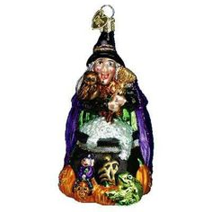 Witch ornament.
