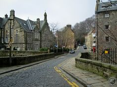 Cobbled Dean Village Scotland Nature, Stockbridge Edinburgh, Castle On The Hill, Old Stone, Capital City, East Coast, Dean, Old Things, Europe