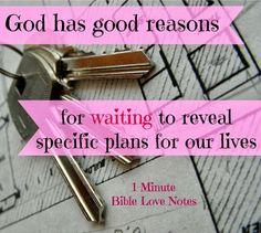 God's guidance, Bible