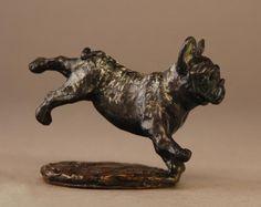 "Mark Hopkins Limited Edition Bronze Sculpture: ""French Bulldog"""