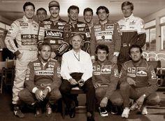 Foto ricordo di una F1 che non c'è (quasi) più.