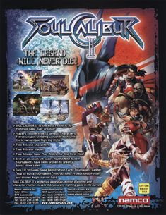 Soul Calibur II, on