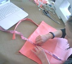 sac diy sequins cabas tuto tutoriel couture vanessa bruno