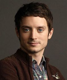 So I guess he's got a nice jaw...  Elijah Wood