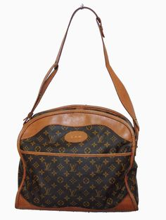 Louis Vuitton by The French Company Carry On Travel Bag Monogram Canvas  1970s  LouisVuitton Travel a629cd627505a
