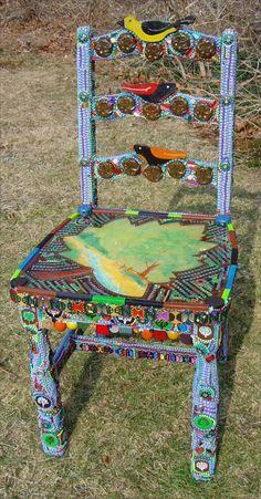 Mexican Folk Art Chair