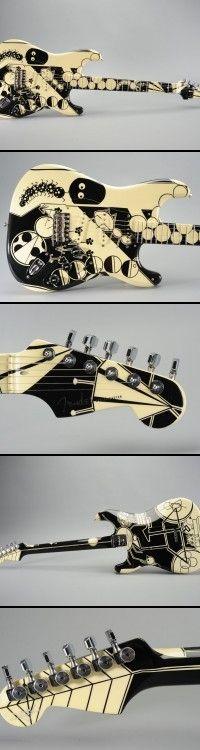 "Fender Custom Shop ""Critter Jungle"" 2004 Strat"