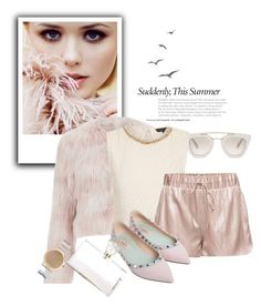 """""""Untitled #305"""" by vasso960 ❤ liked on Polyvore featuring Prada, RED Valentino, Topshop, Valentino, Charlotte Olympia and ASOS"""