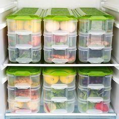 Food Storage Plastic Easy to Use Kitchen Organization 2019 - kr. Kitchen Storage Boxes, Fridge Storage, Refrigerator Organization, Kitchen Organisation, Freezer Organization, Food Storage Containers, Organizing, Crisp Kitchen, Household