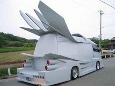 strange cars funny 3 You see some strange rides on the road (31 Photos)