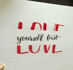Nice life hack for begginers of writing a bullet journal (its for headers) Love Yourself First, Brush Lettering, Journal Inspiration, Easy Drawings, Diy Art, Card Making, Paper Crafts, Letters, Doodles