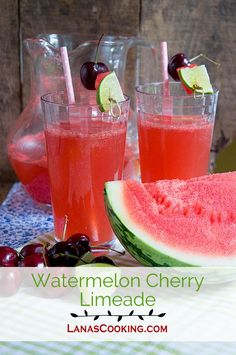 Watermelon Limeade | Recipe | Watermelon, The Star and Juice