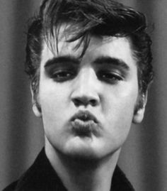 rock rock n roll Elvis Presley - (young Elvis)