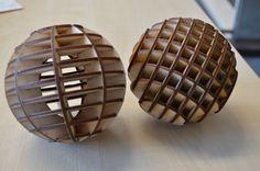 Balls! Cut on the laser cutter