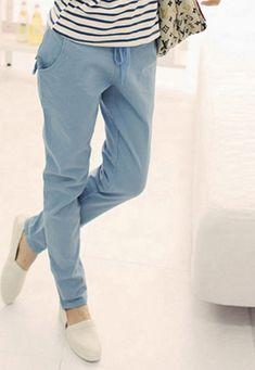 51cc16a296717 Women s Summer Linen Casual Trousers