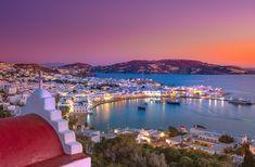 Dream Sailing Itinerary: The Cyclades Mykonos Hotels, Mykonos Town, Santorini Greece, Travel Divas, Thasos, Sailing Holidays, Mykonos Island, Romantic Escapes, Secluded Beach