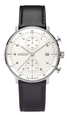 Junghans Max Bill Chronoscope //