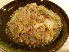 ★白菜と春雨のひき肉うま煮★