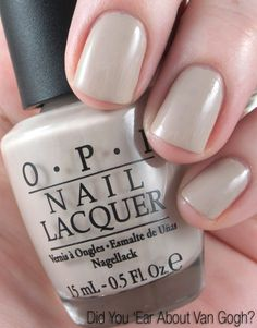 OPI Did You Ear About Van Gough?