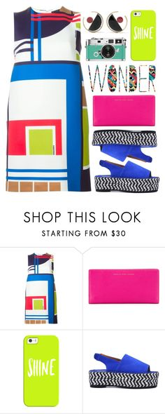 """""""Abstract Print Dresses"""" by lover-of-pie ❤ liked on Polyvore featuring Dsquared2, Marc by Marc Jacobs, Casetify and Marni"""