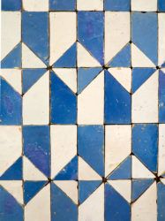 Tiles of Lisbon from 1600-1625. Photo: Heather Moore