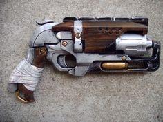 Steampunk-Gun-Nerf-Zombie-Strike-Hammershot-Victorian-Cosplay-Painted