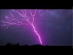 Lightning bolts Thunder bolt slow motion