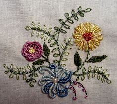 WANDERING THE CREATIVE PATHWAYS . . .: Brazillian Dimensional Embroidery Project