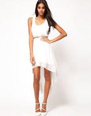 ASOS High Low Hem Dress
