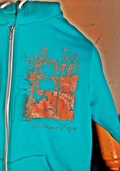 Medium American Apparel Flex Fleece Hoodie by TheBohemusProject, $40.00 (with a print from a photo in BsAs!)