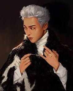 [Fanart] #GD sliver  #kwonjiyong #gdragon #gd #bigbang #perfect #fanart #beautiful