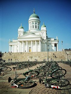 Senate Square, Helsinki, Finland...I've been here as well. My family heritage is from Finland.